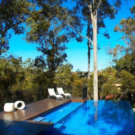 卡雷那高地泳池景观